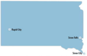 South Dakota Locations for Job Training