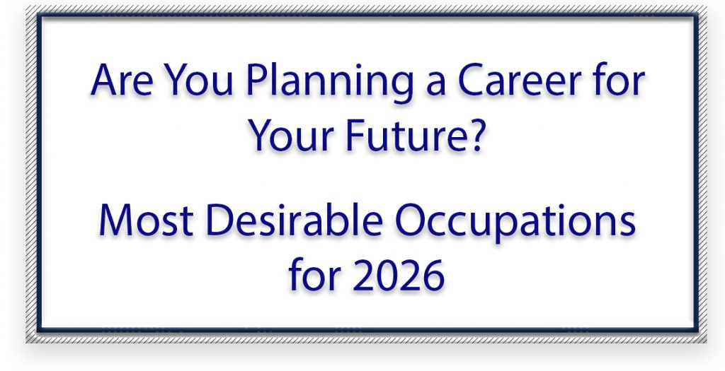 Most Desirable Occupations For 2026 Ojt On The Job Training