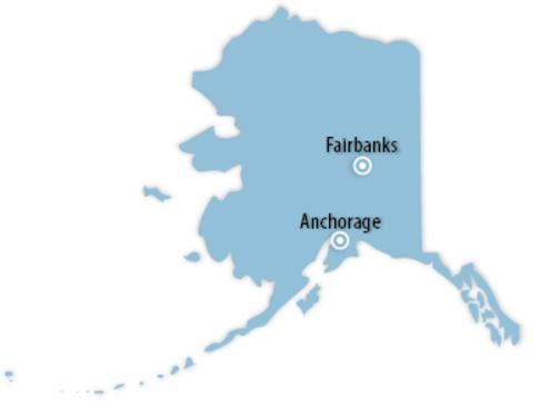 Alaska Locations for Job Training