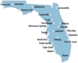 Florida Locations for Job Training