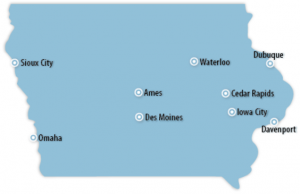 Iowa Locations for Job Training