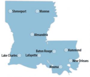 Louisiana Locations for Job Training