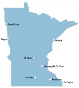 Minnesota Locations for Job Training