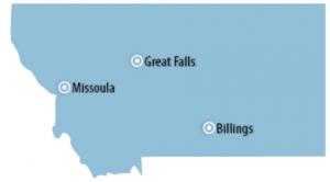 Montana Locations for Job Training