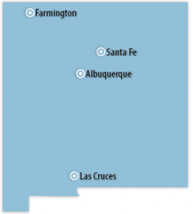 New Mexico Locations for Job Training