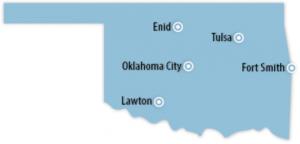 Oklahoma Locations for Job Training