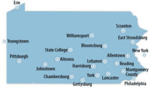 Pennsylvania Locations for Job Training